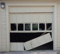 Garage door installation dyi hazards