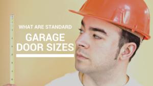 What Are Standard Garage Door Sizes Texas Overhead Door
