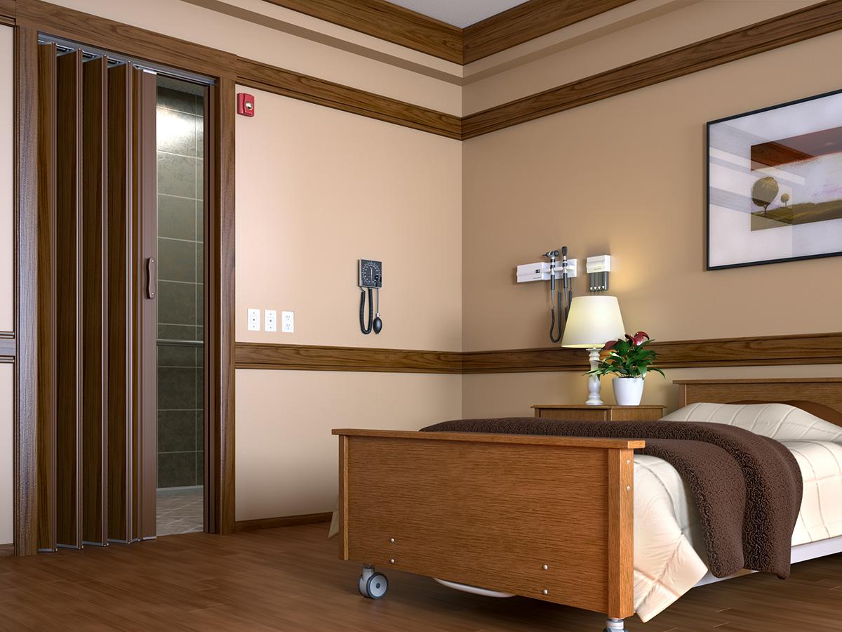 Assisited Living & Accordion Doors and Sight Control Doors | Texas Overhead Door pezcame.com