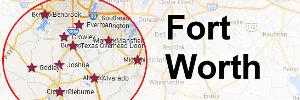 Fort-Worth-Map