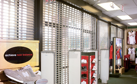 Commercial Rolling Grilles