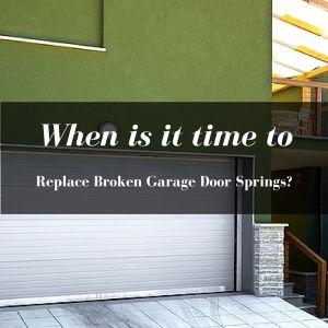 garage spring replacement