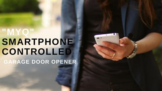 MyQ Smartphone Controlled Garage Door Opener