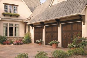 wooden garage doors Burleson texas