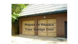 Repair & Replace garage door