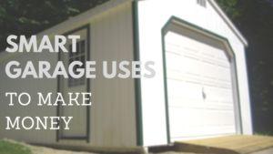 make money with empty garage