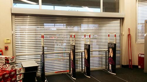 Storefront Security Doors