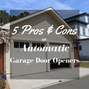 automatic garage door opener5 Pros  Cons of Automatic Garage Door Openers  Texas Overhead Door