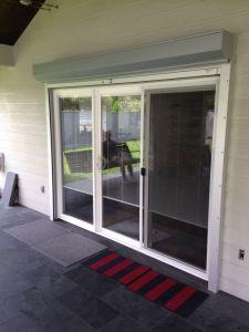 open home security shutter
