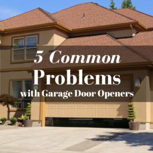 problem with garage door