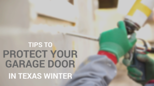 insulating garage door for winter in texas