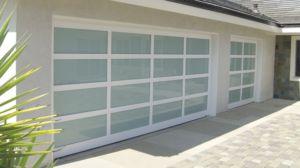 glass garage doors and installation Fort Worth