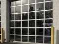 Haas Clear Glass Doors-Auto Bay